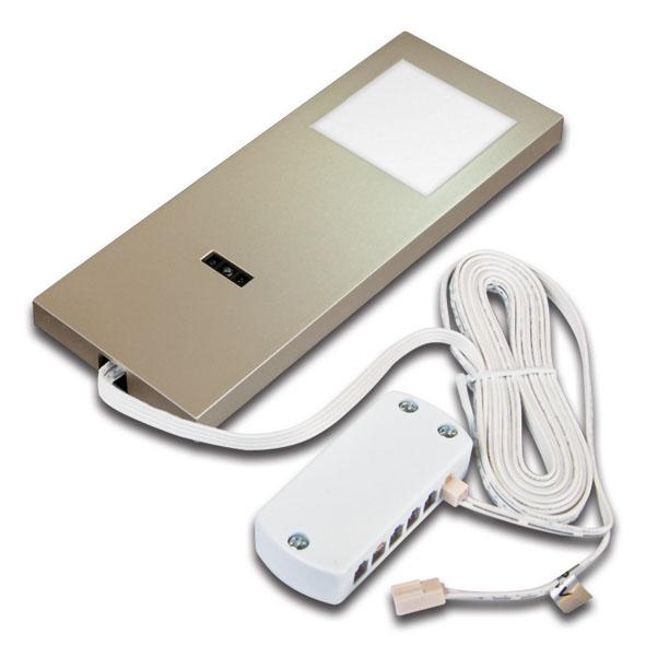 hera 61001691208 led slim pad f 5w ww mit schalter. Black Bedroom Furniture Sets. Home Design Ideas