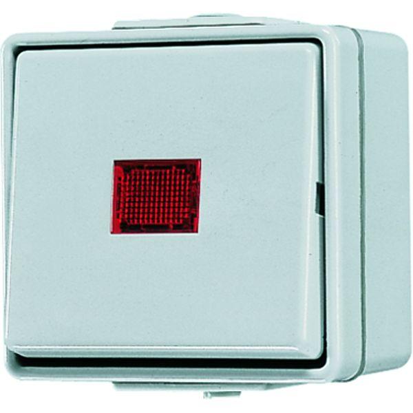 jung 606kow wipp kontrollschalter online kaufen im voltus elektro shop. Black Bedroom Furniture Sets. Home Design Ideas