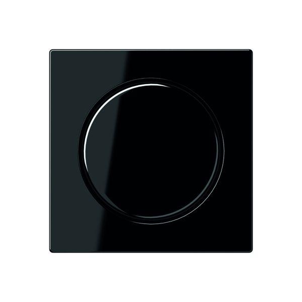 jung a 1540 sw abdeckung f r drehdimmer nebenstelle potentiometer schwarz gl nzend online. Black Bedroom Furniture Sets. Home Design Ideas