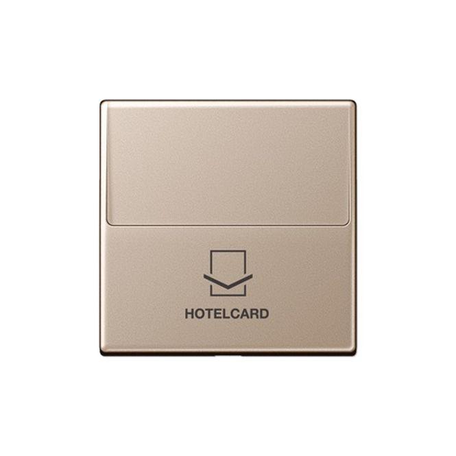 jung a 590 card ch hotelcard schalter ohne taster einsatz champagner lackiert online kaufen im. Black Bedroom Furniture Sets. Home Design Ideas