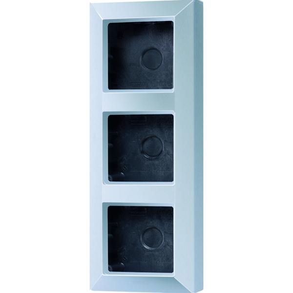 jung as583aal aufputz kappe 3 fach aluminium online kaufen im voltus elektro shop. Black Bedroom Furniture Sets. Home Design Ideas