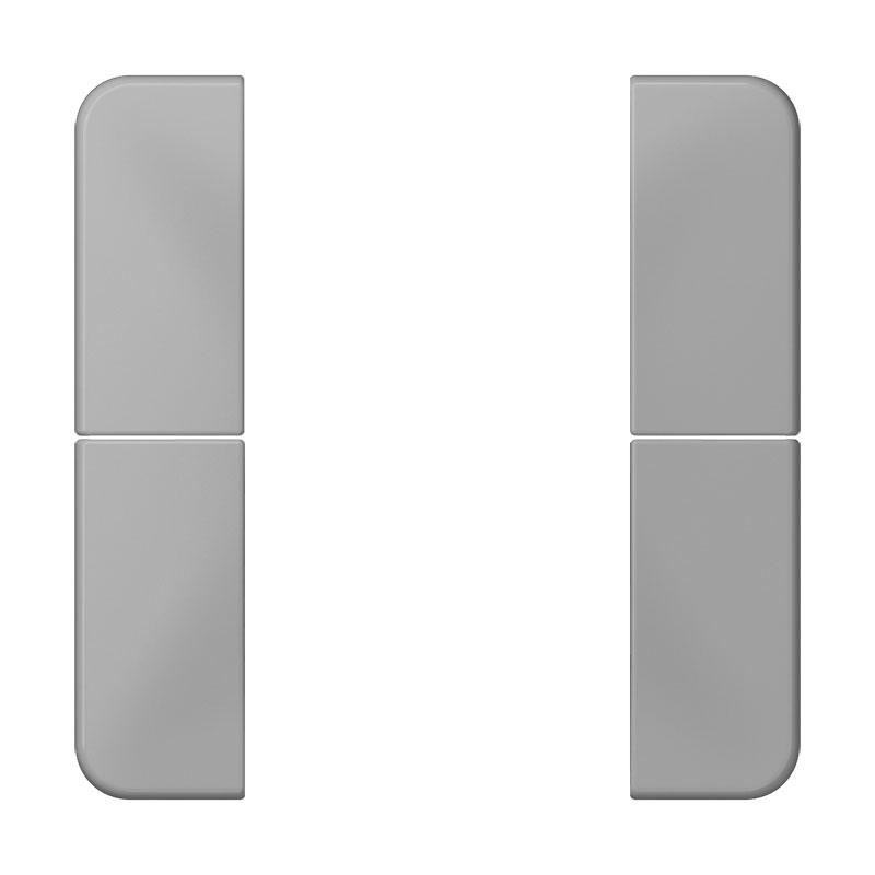 jung cd 502 tsa gr tastensatz 2 fach komplett serie cd grau online kaufen im voltus elektro shop. Black Bedroom Furniture Sets. Home Design Ideas
