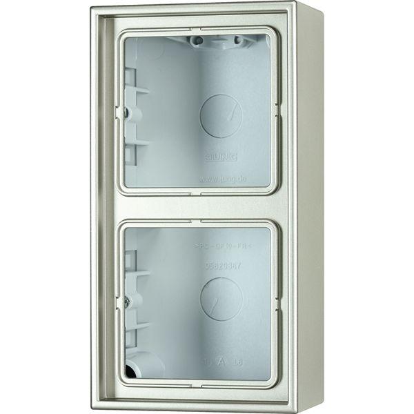 jung al2582a l aufputz kappe aluminium online kaufen im voltus elektro shop. Black Bedroom Furniture Sets. Home Design Ideas