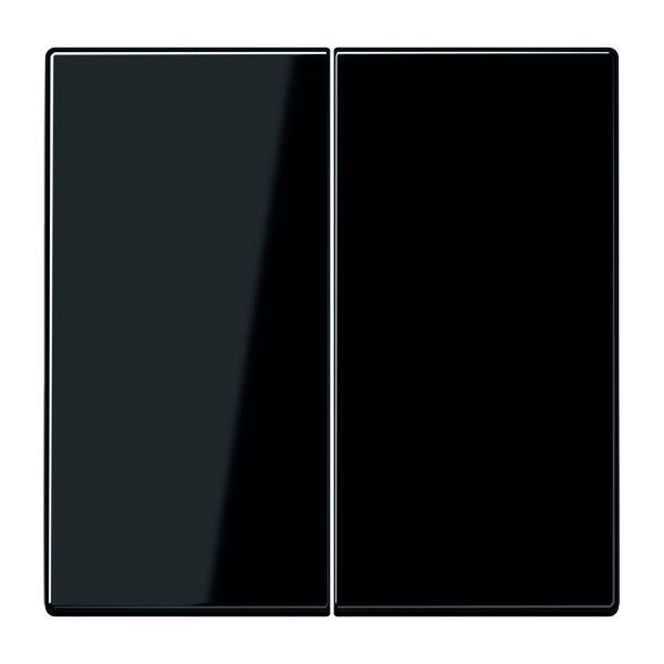 jung serien tastdimmer abdeckung schwarz online kaufen im voltus elektro shop. Black Bedroom Furniture Sets. Home Design Ideas