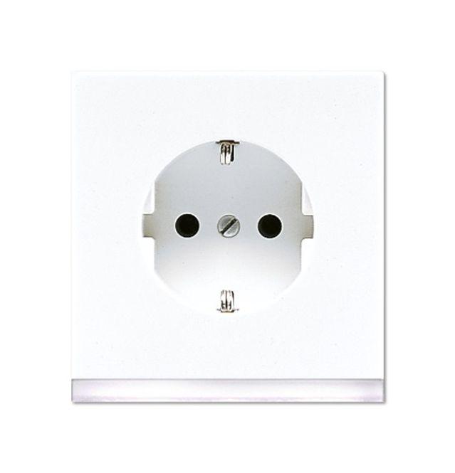 JUNG LS 520-O WW LEDW SCHUKO Steckdose 16 A 250 V ~ mit LED ...