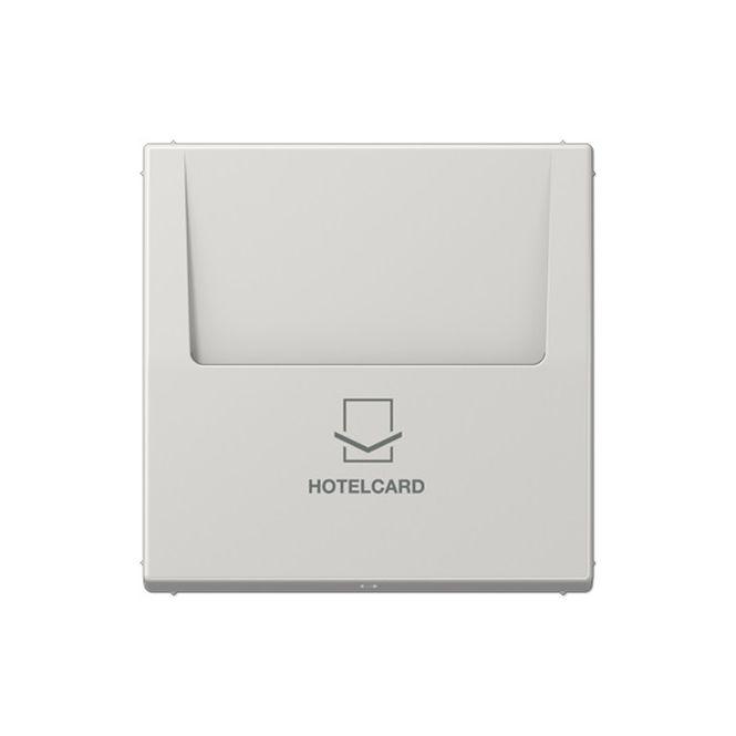 jung ls 590 card lg hotelcard schalter ohne taster einsatz lichtgrau online kaufen im voltus. Black Bedroom Furniture Sets. Home Design Ideas