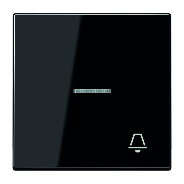 jung ls990ko5ksw wippe mit symbol klingel schwarz online kaufen im voltus elektro shop. Black Bedroom Furniture Sets. Home Design Ideas