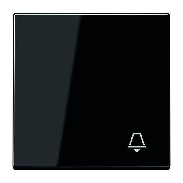 jung ls990ksw wippe mit symbol klingel schwarz online kaufen im voltus elektro shop. Black Bedroom Furniture Sets. Home Design Ideas