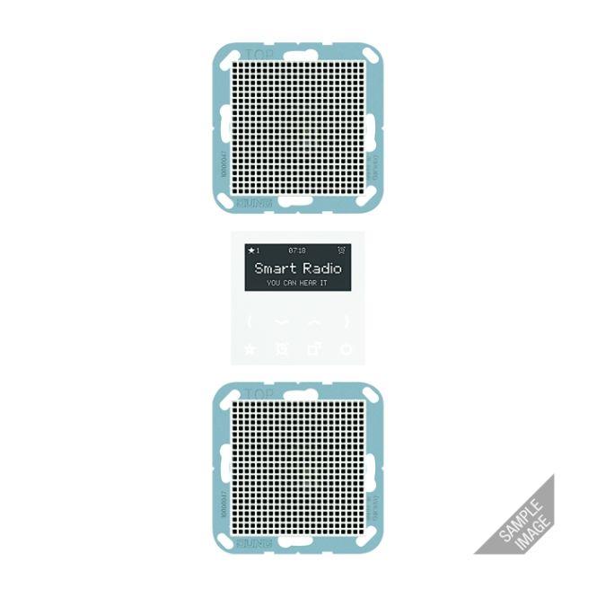 jung rad a 528 mo smart radio set mono mokka online. Black Bedroom Furniture Sets. Home Design Ideas