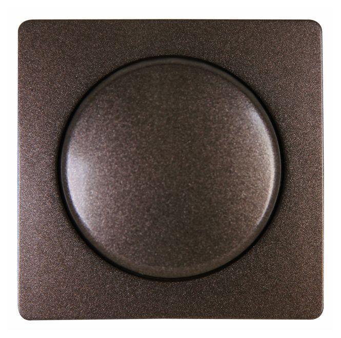 kopp 333726183 paris abdeckung f r dimmer mit druck wechselschalter palisanderbraun online. Black Bedroom Furniture Sets. Home Design Ideas