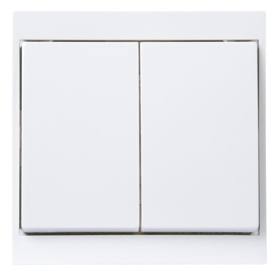 kopp 620313087 malta arktis wei wechsel wechselschalter. Black Bedroom Furniture Sets. Home Design Ideas