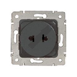 LEGRAND-775836, Steckdose (SK) 2-polig, euro-amerikanischer Standard ...