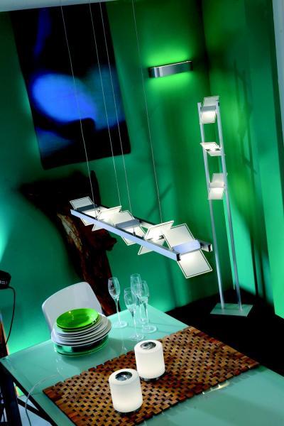 lichtideen l35018 led pendelleuchte aluminium geb rstet online kaufen im voltus elektro shop. Black Bedroom Furniture Sets. Home Design Ideas