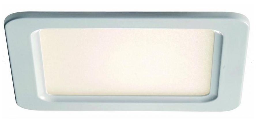 lichtideen l35279 led deckenpanel quadratisch aluminium kunstoff wei 1x12 w online kaufen im. Black Bedroom Furniture Sets. Home Design Ideas
