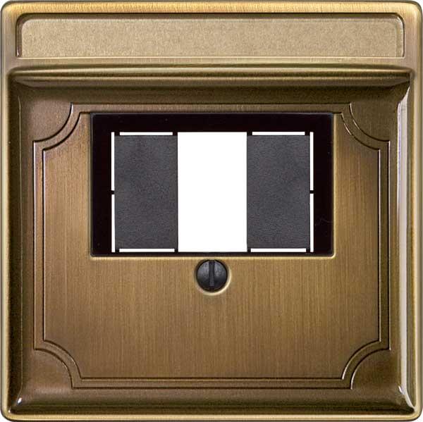 merten 297843 zentralplatte f r tae und lautsprecher. Black Bedroom Furniture Sets. Home Design Ideas