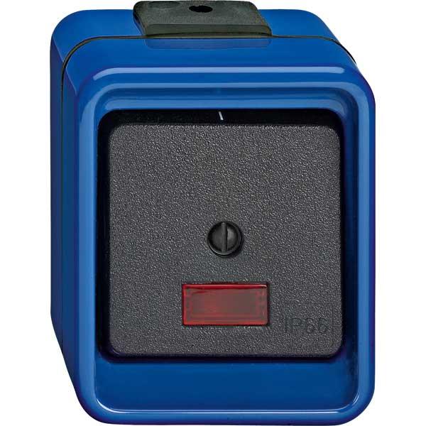 merten 372375 wipp kontrollschalter aus 3 polig blau schlagf online kaufen im voltus elektro. Black Bedroom Furniture Sets. Home Design Ideas
