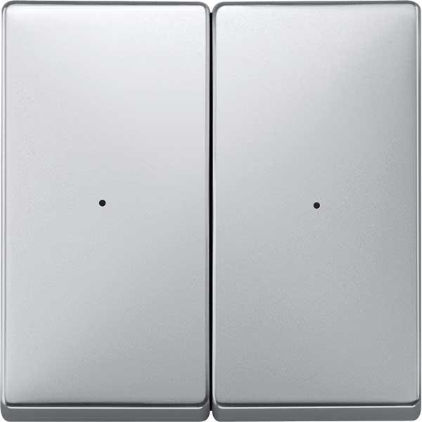 merten 507260 funk taster connect 2fach aluminium online. Black Bedroom Furniture Sets. Home Design Ideas