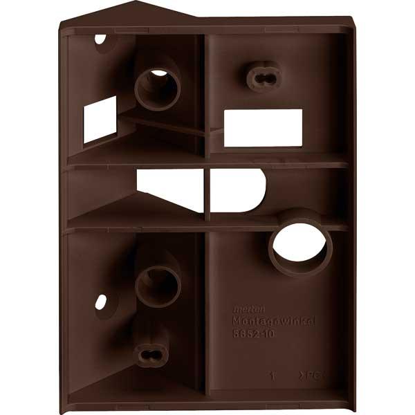merten 565292 montagewinkel f r bewegungsmelder argus dunkelbrasil online kaufen im voltus. Black Bedroom Furniture Sets. Home Design Ideas