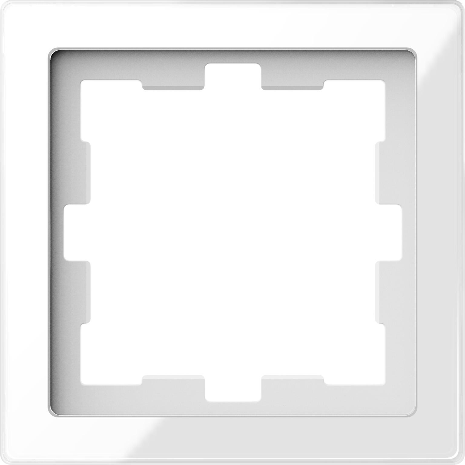 MERTEN MEG4010-6520 D-Life Glas Rahmen, Kristallweiß 1-fach online ...
