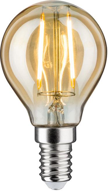 paulmann led tropfen gold e14 230 v 2 5 w online kaufen im voltus elektro shop. Black Bedroom Furniture Sets. Home Design Ideas