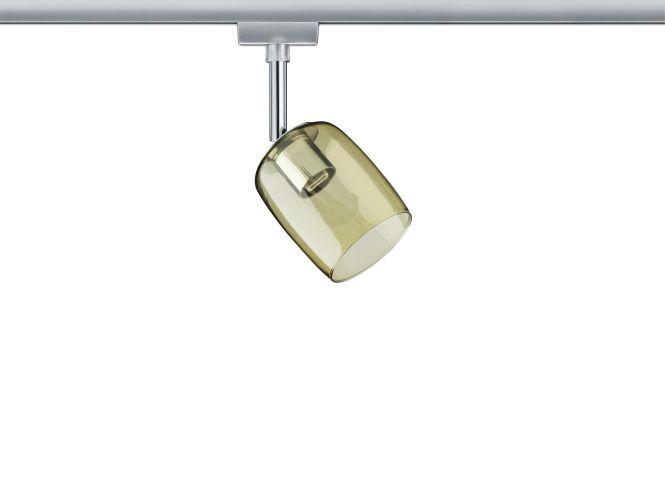 paulmann urail system spot blossom 230v g9 chrom matt gelb transparent online. Black Bedroom Furniture Sets. Home Design Ideas