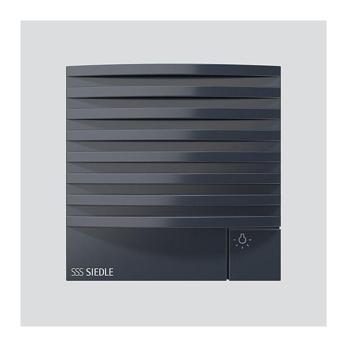 siedle tlm 612 02 ag t rlautsprecher modul f r das adernsparende 1 n system anthrazitgrau. Black Bedroom Furniture Sets. Home Design Ideas