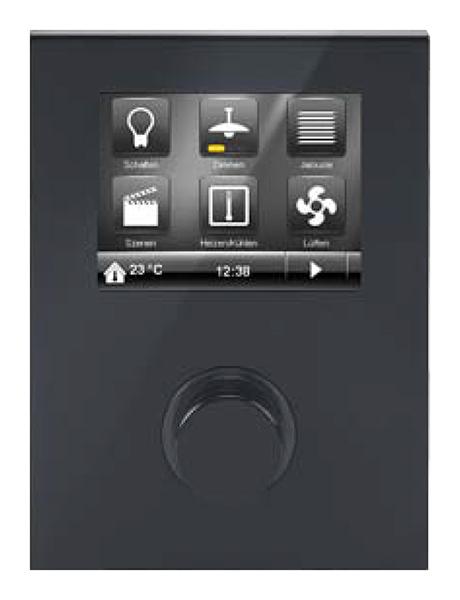 siemens 5wg12042ab51 knx raum controller contouch unterputz pianoschwarz online kaufen im voltus. Black Bedroom Furniture Sets. Home Design Ideas
