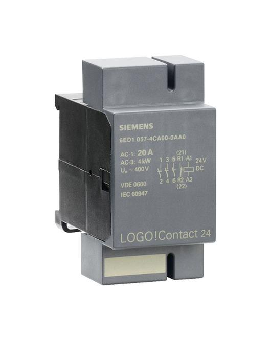 siemens 6ed10574ca000aa0 logo contact 24 schaltmodul