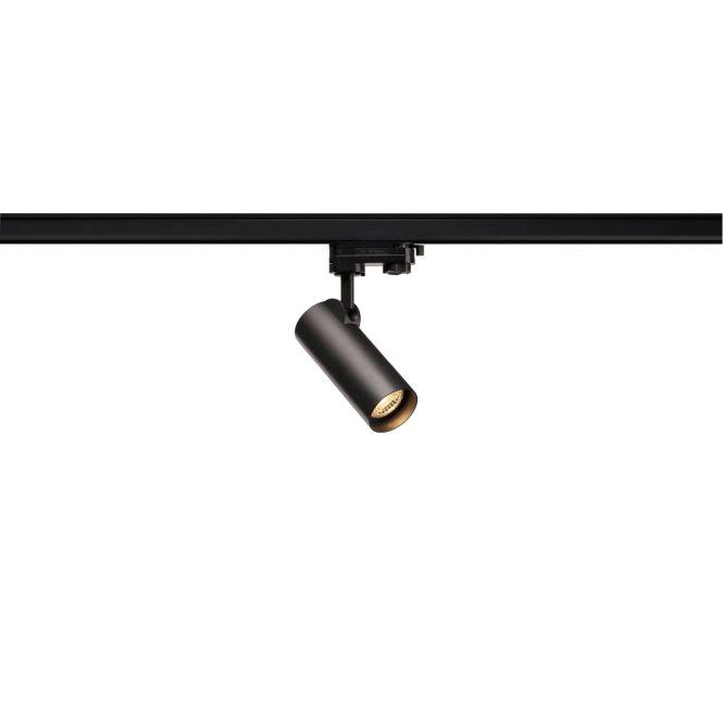 slv 152960 helia 50 led strahler f r 3 phasen hochvolt stromschiene 3000k 35 schwarz online. Black Bedroom Furniture Sets. Home Design Ideas