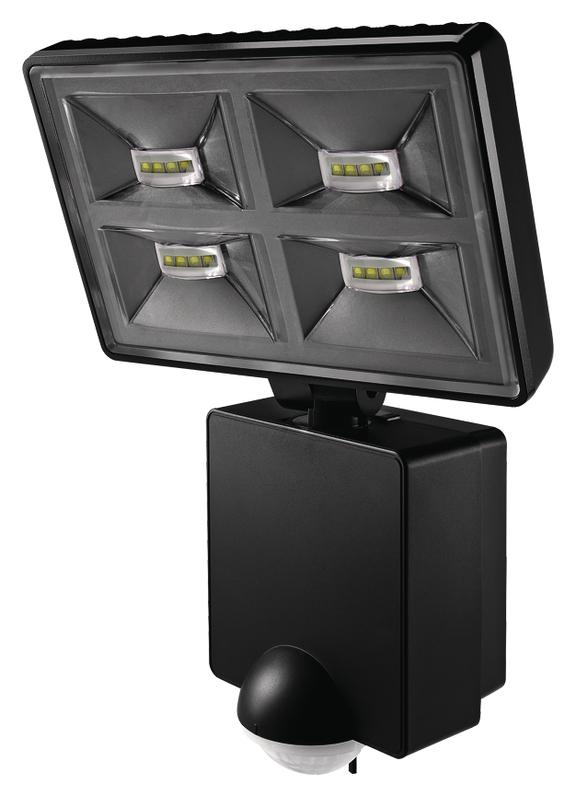 theben 1020976 luxa 102 180 led 32w led strahler mit bewegungsmelder schwarz online kaufen im. Black Bedroom Furniture Sets. Home Design Ideas