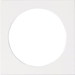 HAGER WYA480 Abdeckungen Fr Multimedia Steckdosen Reinweiss