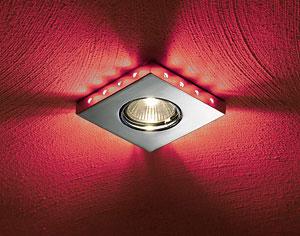 brumberg nv strahler gx5 3 20w led kranz rot mattnickel online kaufen im voltus. Black Bedroom Furniture Sets. Home Design Ideas