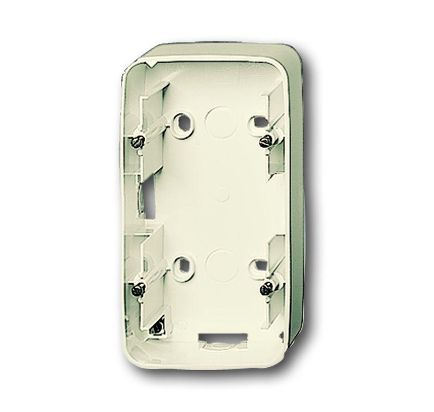 busch jaeger 1702 212 aufputz geh use 2 fach online kaufen im voltus elektro shop. Black Bedroom Furniture Sets. Home Design Ideas