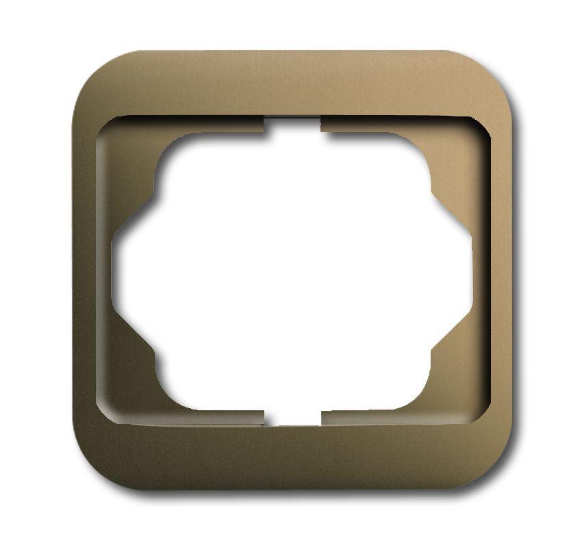busch jaeger 1721 21 abdeckrahmen 1fach bronze online kaufen im voltus elektro shop. Black Bedroom Furniture Sets. Home Design Ideas