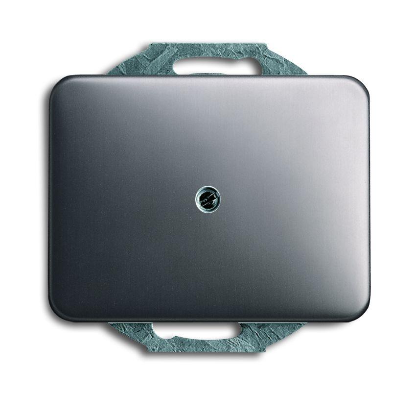 busch jaeger 1749 20 abdeckung f r leitungauslass platin online kaufen im voltus elektro shop. Black Bedroom Furniture Sets. Home Design Ideas