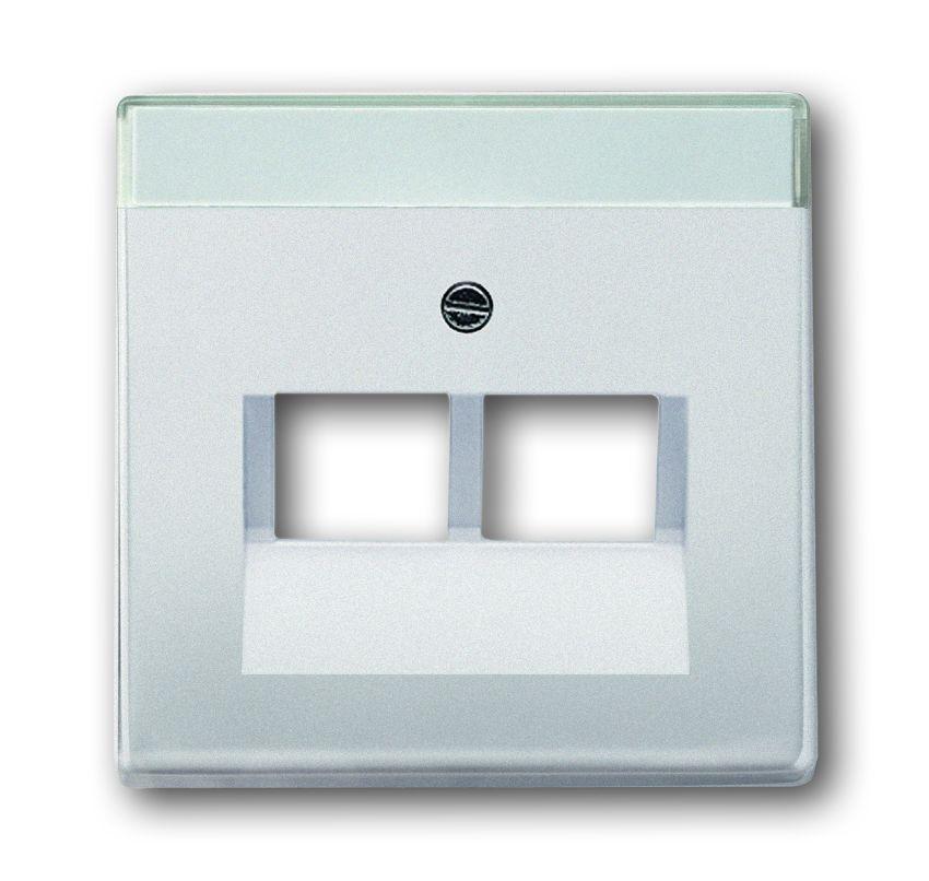 busch jaeger 1803 02 866 uae abdeckung 2 fach online. Black Bedroom Furniture Sets. Home Design Ideas