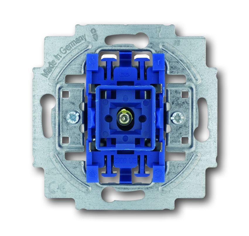 busch jaeger 2000 6usk wippkontrollschalter mit n klemme nennstrom 10 a online kaufen im voltus. Black Bedroom Furniture Sets. Home Design Ideas