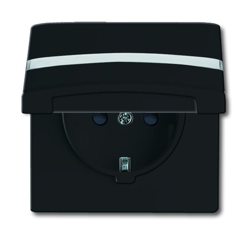 busch jaeger 20 eugkbn 35 101 schuko steckdoseneinsatz ip44 anthrazit online kaufen im voltus. Black Bedroom Furniture Sets. Home Design Ideas