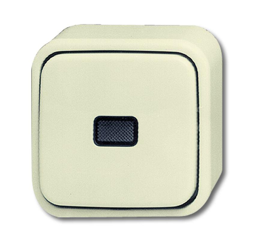 busch jaeger 2601 6 skap wipp kontrollschalter cremewei. Black Bedroom Furniture Sets. Home Design Ideas