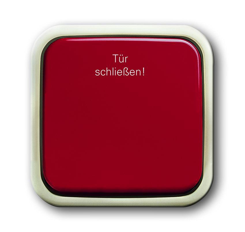 busch jaeger 2621 ap 107 wipptaster 1 polig ffner mit. Black Bedroom Furniture Sets. Home Design Ideas