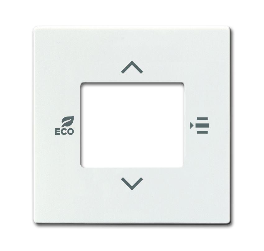 busch jaeger 6109 03 84 zentralscheibe f r raumtemperaturregler studiowei online kaufen im. Black Bedroom Furniture Sets. Home Design Ideas