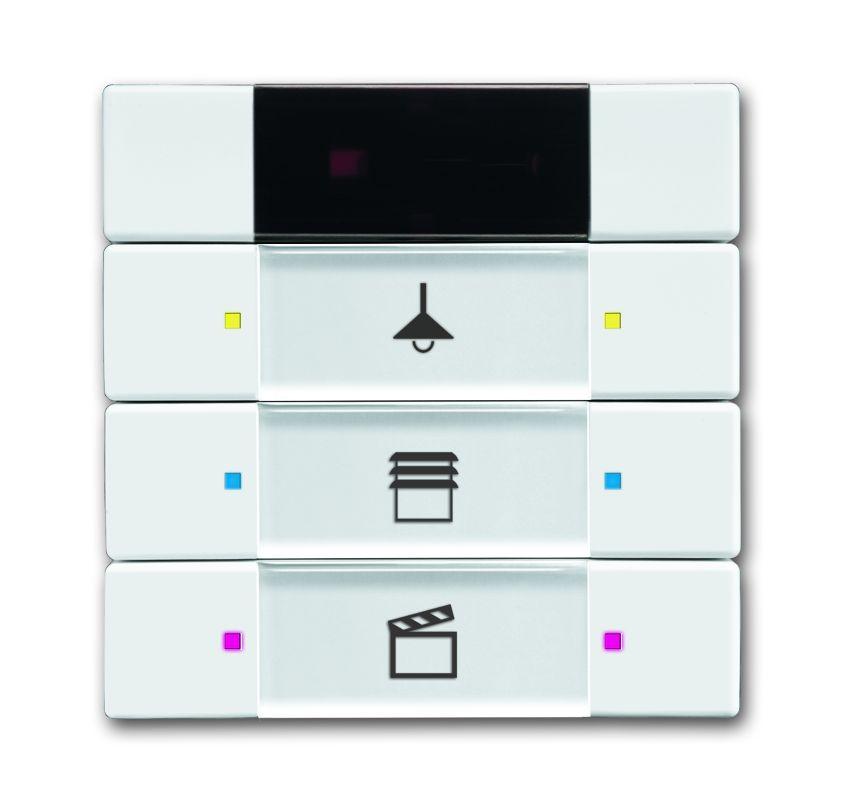 busch jaeger 6129 01 84 bedienelement 3 6 fach multifunktion farbkonzept studiowei online. Black Bedroom Furniture Sets. Home Design Ideas