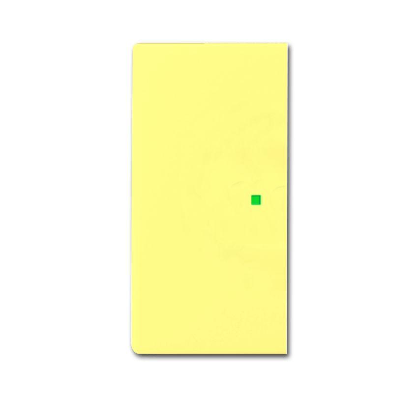 busch jaeger 6230 20 815 wippe 2 fach ohne bedruckung gelb online kaufen im voltus elektro shop. Black Bedroom Furniture Sets. Home Design Ideas