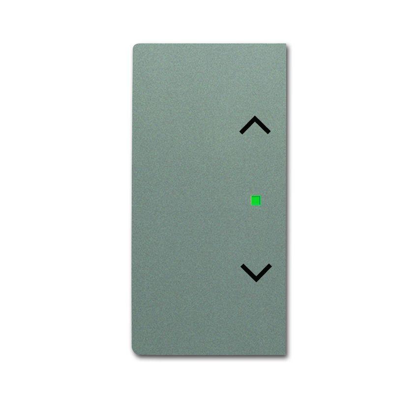 busch jaeger 6232 20 803 wippe 2 fach mit symbol jalousie graumetallic online kaufen im voltus. Black Bedroom Furniture Sets. Home Design Ideas