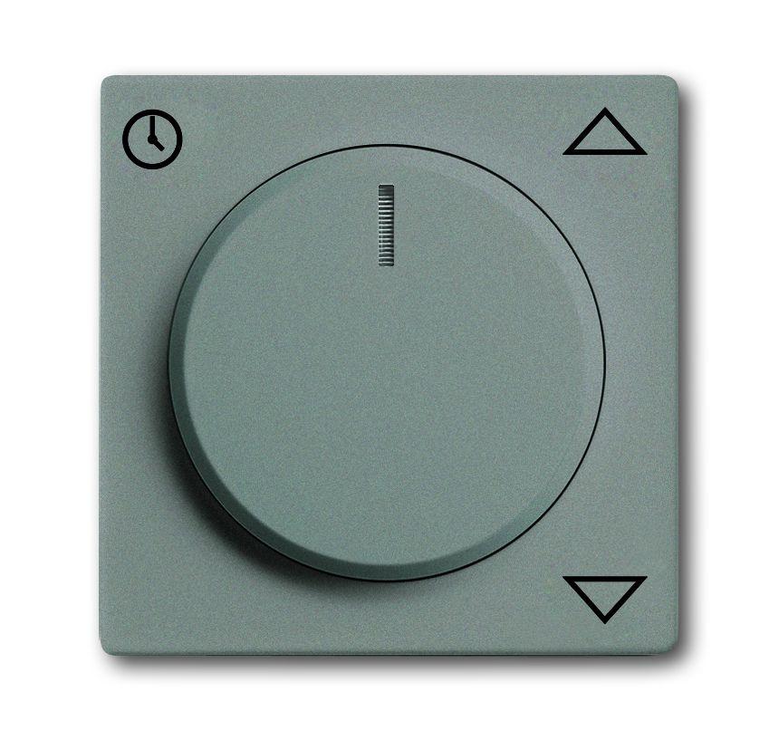 busch jaeger 6436 803 jalousieabdeckung mit drehknopf meteor graumetallic online kaufen im. Black Bedroom Furniture Sets. Home Design Ideas