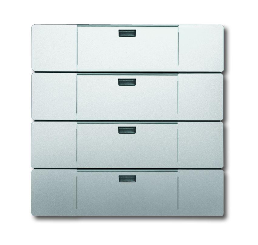 busch jaeger 6733 866 wandsender waveline 4kanal. Black Bedroom Furniture Sets. Home Design Ideas