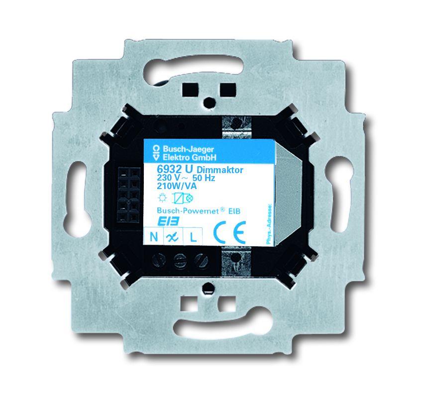 busch jaeger 6932u 101 unterputz dimmaktor sensor online. Black Bedroom Furniture Sets. Home Design Ideas