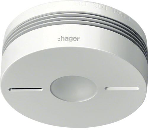 HAGER-BERKER TG550A Funk-Rauchwarnmelder Komfort Q Einzelgerät ...