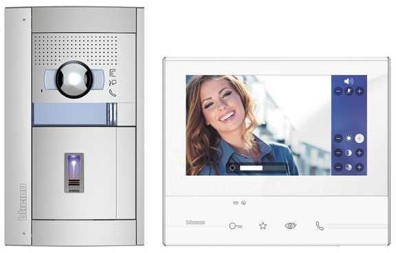 LEGRAND 905223 2-Draht Farbvideo-Set mit ekey-Fingerprint 4-Kanal ...