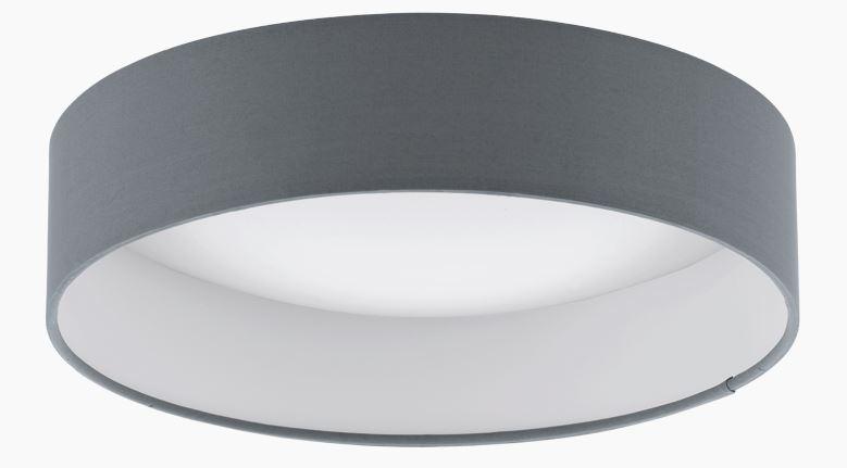 Lichtideen l35169 eglo led deckenleuchte palomaro taube for Led deckenleuchte innen